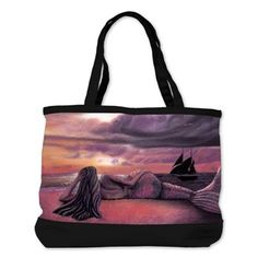 Shoulder Bag - Mermaid Rendezvous  by Michaeline McDonald