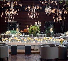 decor: velas, espelho e lounge