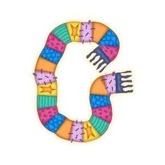 Letter G, Alphabet, Symbols, Winter, Letters, Clothing Apparel, Winter Time, Alpha Bet, Icons