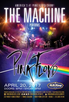 The Machine - Tribute to Pink Floyd (4.20.17)