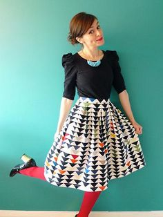 Interview with Tilly Walnes from Tilly and The Buttons Blog - containing sewing tips, photography tips and blogging tips!
