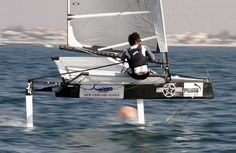 Sailing - Bora Gulari discusses the new Mk2 wing for his foiling Moth