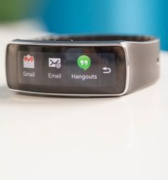 The Samsung Gear Fit. I love this watch