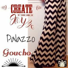 I just added this to my closet on Poshmark: NWT Chevron wide leg goucho Palazzo pants. Price: $38 Size: M