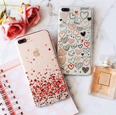 Gadgets, Techno, Cellphone, Computer: Trendy cell phone cases (Iphone and Samsung) Smartphone Iphone, Iphone 3, Coque Iphone, Apple Iphone 6, Iphone Cases, White Iphone, Cute Cases, Cute Phone Cases, Iphone 7 Plus Rose