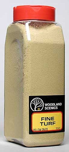 Yellow Grass Fine Turf (32 oz. Shaker) Woodland Scenics