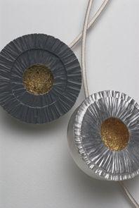 'Drum' necklaces by Janet Hinchliffe-McCutcheon