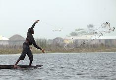 Fishing - Benin #fishing #nature #hapiness #benin --- Pesca - Benin