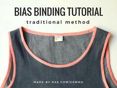 bias binding traditional