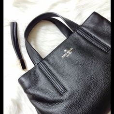 HP  kate spade grey street cate bag Super cute pink inside, has removable long body straps, 2 sections closed with a magnetic clasp, middle has zipped compartment, plenty of pockets, comes with dustbag.  authentic kate spade Bags