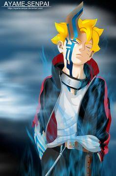Boruto Uzumaki Kama (manga by Ayame-Senpai on DeviantArt Naruto Akatsuki Funny, Naruto Uzumaki Hokage, Boruto And Sarada, Naruto Funny, Naruto And Sasuke, Naruto Shippuden Anime, Itachi Uchiha, Boruto Characters, Naruto Tattoo
