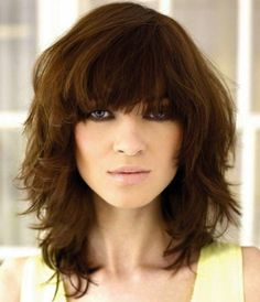 Shoulder Length Hairstyles With Bangs Inspiration Hair Styles For Girls Hair Cuttery Haircuts For Little Girls With T