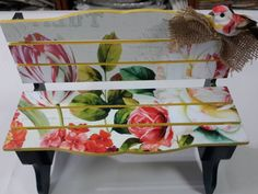 Meral Sanatevi – Handmade – painting -craft house-one stroke Mutfak – home accessories Decoupage Furniture, Furniture Ideas, Home Crafts, Diy Crafts, Craft House, One Stroke, Painting On Wood, Decorative Items, Home Accessories