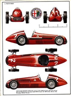 SLOTTY SALAD: ALFA ROMEO TYPE 158/9 Profile Publications