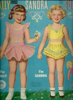 SALLY SANDRA & SUE ORIGINAL 1955 UNCUT MERRILL 3460 | eBay