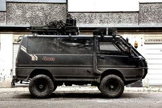 Post Apocalyptic Delica by Mud Monkeys, via Flickr