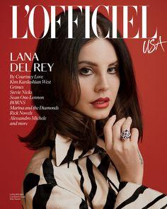 Lana Del Rey covers L'Officiel USA.