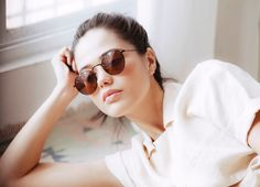 Filipino model, Clara Aseniero, for Sunnies Studios by Shaira Luna