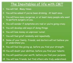 Life with CMT