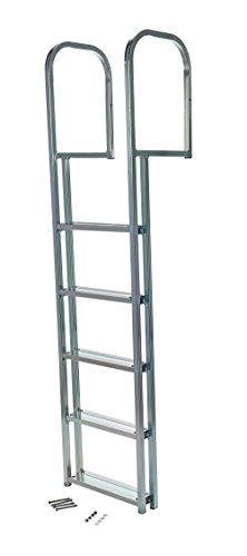 Ship / Submarine  Vestil L5 5Step Marine Ladder Anodized Aluminum 10 Length x 72…