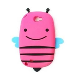 This 3D New Cute Chic Smile Bee Silicon Case for iPhone 5 keeps your cell phone always on guard while on the go. http://www.icase-zone.com/3d-new-cute-chic-smile-bee-silicon-case-for-iphone-5-p-485.html