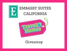 Enter for a chance to win a 2 night stay at Embassy Suites of California courtesy of @TravelMamas ColleenLanin on Facebook!  I entered, so should you!