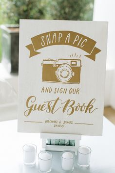 35 Interactive Guest Book Ideas You'll Want to Steal - Style Me Pretty Church Wedding, Our Wedding, Dream Wedding, Wedding Signage, Wedding Venues, Wedding Reception, Reception Activities, Wedding Guest Book Alternatives, Romantic Weddings