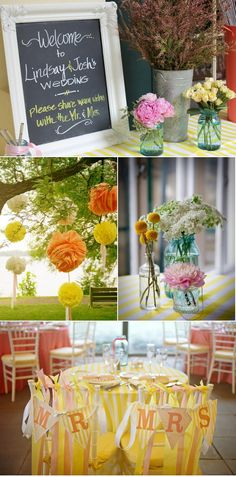 floating globes of orange and yellow paper add cheeriness to anywhere you can hang them from!