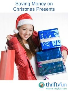 This is a guide about saving money on Christmas presents. Buying Christmas presents for everyone can get quite expensive. There are a lot of ways to save money when shopping for everyone.