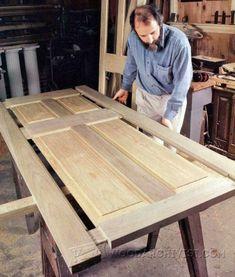 Making Wooden Doors - Door Construction and Techniques - Woodwork, Woodworking, Woodworking Plans, Woodworking Projects #woodworkingplans #woodworkingtips