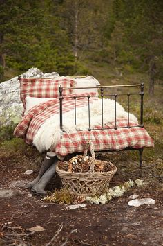 My idea of the perfect camping set up.