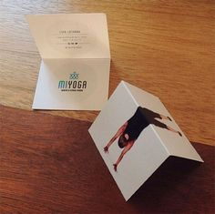 Creative business card for MiYoga