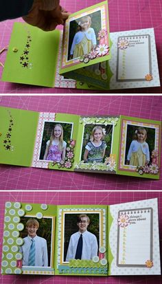 SCT:  Mother's Day Brag Books tutorial by Aly Dosdall!