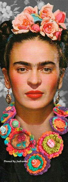 Candy Art, Eye Candy, Kahlo Paintings, Pin Logo, Vintage Pictures, Beautiful World, Art Projects, Crochet Necklace, Roses
