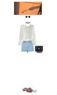 Red Hot Chili Peppers-She looks to me by doraszucs on Polyvore featuring Chicwish, River Island, Jeffrey Campbell, Chanel, H&M and statementnecklaces