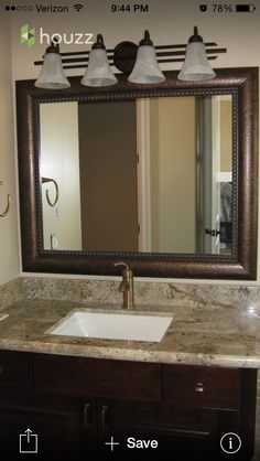 Remodel Bathroom Mirror its amazing how just the mirrors can change the overall look of