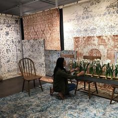 So Excited For My Rug Line With To Launch This Weekend Getting The Showroom Ready Retailers Can Select From 8 Diffe Collections