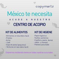 Se suma Copymartz a las muestras de solidaridad y habilita centros de acopio en todas sus sucursales de Chihuahua | El Puntero