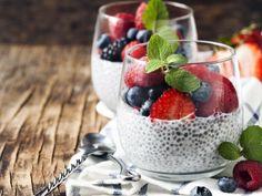 Día 2 del #retokiwilimón: desayuna un chía pudding con frutos rojos ¡Síguelo y siéntente mejor cada día!