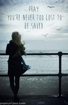 Never too late to be saved