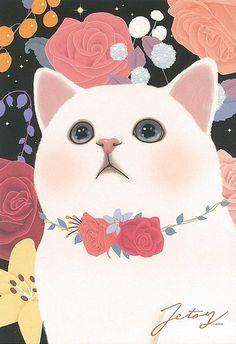 Jetoy Choo choo cat postcard - Night 5 | by PCmarja2006