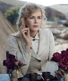 Nicole Kidman opens up on life with Keith Urban for Vogue US.
