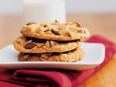 If you're of the school that thinks chocolate chip cookies should be soft and chewy, you'll love this recipe. If not, these cookies will...