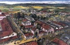 Roman Architecture, Ancient Architecture, Ancient Rome, Ancient History, Lead Adventure, Roman Britain, Roman City, Ancient Buildings, Roman History