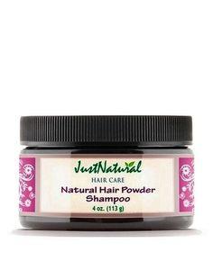 Natural Hair Powder Shampoo