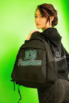 Free Giveaway: Rhinestone ECG Logo Sling Bag   Enter Here: http://www.giveawaytab.com/mob.php?pageid=106300882743382