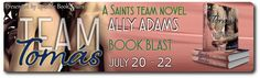 A One-click Addict's Book Blog: Book Blast: Team Tomás ~ Saints team series #2 by ...