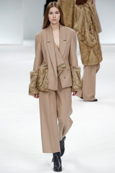 There was much chic on display at Chalayan's fall show. [Photo by Giovanni Giannoni]