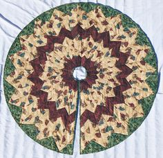 Handmade Quilted Christmas Tree Skirt A Total Beauty