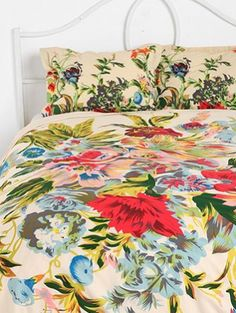 New romantics- floral bedding from
